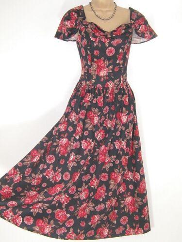 de vintage Robe Laura f Ashley zwqX0qt