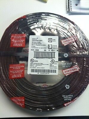 3 Rolls Totaline 20 Gauge 4 Wire Thermostat Cable 250/' Feet Roll Low Voltage for sale online