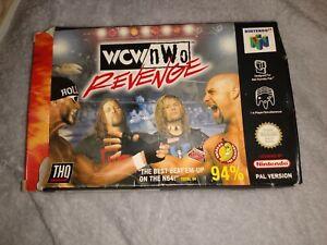 Wcw/NWO venganza-N64 Nintendo 64