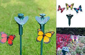 Vibration-Solar-Power-Dancing-Flying-Fluttering-Butterflies-Garden-Decor-Outdoor