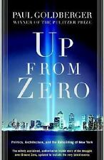 Up from Zero: Politics, Architecture, and the Rebuilding of New York, Goldberger