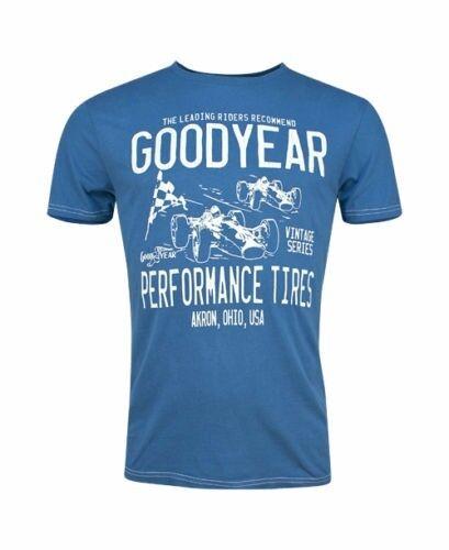 Goodyear BATON ROUGE T-Shirt Blau  Steel Blue