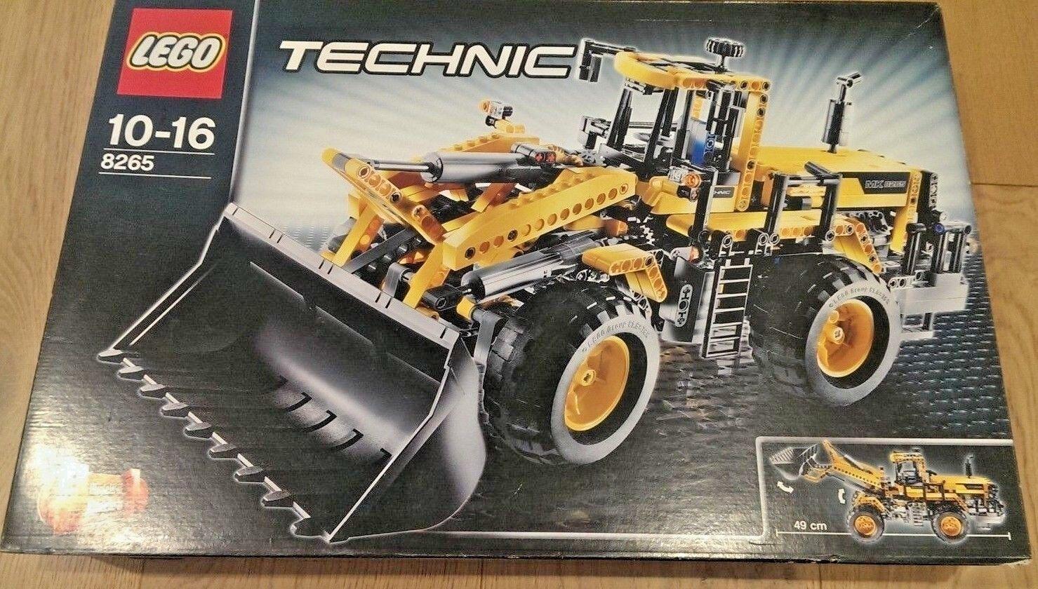 LEGO 8265 Technic davanti  Loader Set Retirosso - nuovo e Sealed  Sconto del 60%