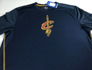 Cleveland-Cavaliers-Shirt-Mens-SZ-M-L-Dri-Fit-NBA-Basketball-Cavs-NEW-Majestic