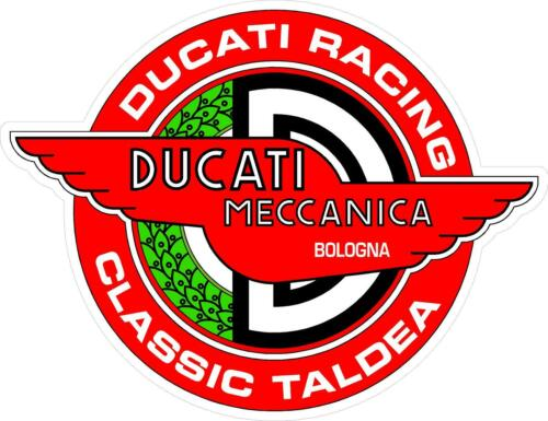 """#G230 8/"""" to 22/"""" Ducati Meccanica Racing Decal Sticker Fully Laminated Vinyl"""