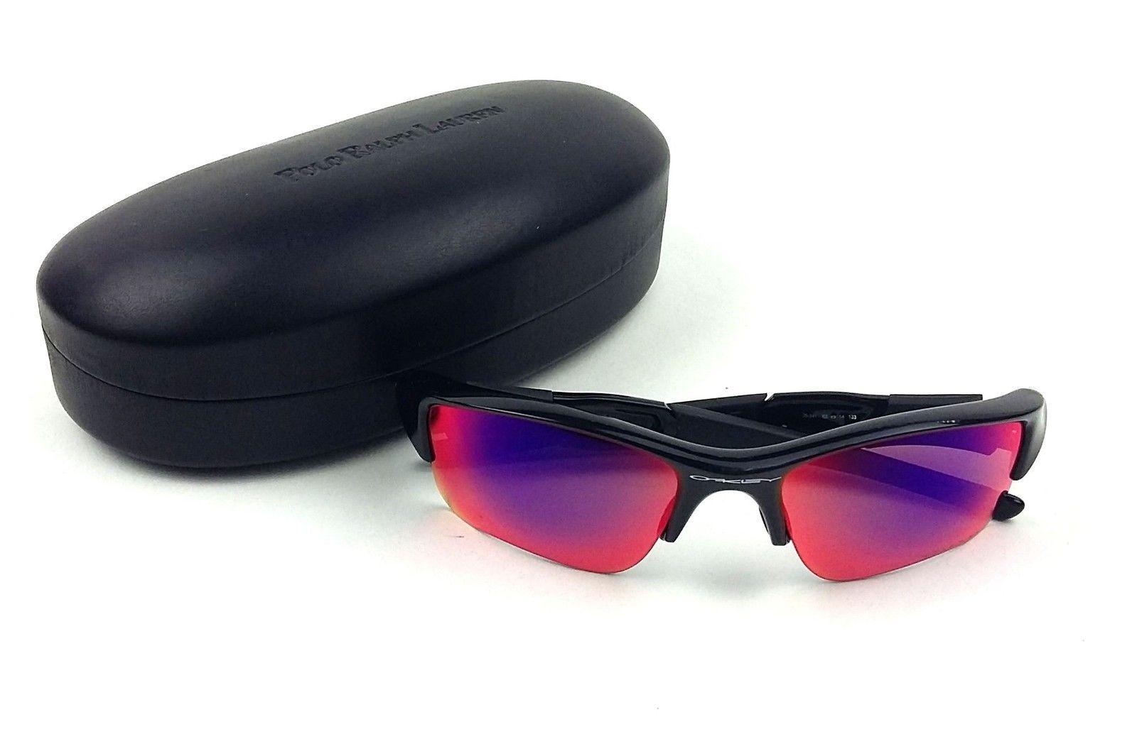 313d2507d29 Oakley Flak Jacket XLJ 26-241 Polarized Sports Sunglasses for sale ...