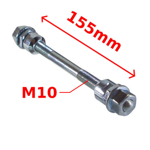 BICYCLE WHEEL HUB AXLE FRONT REAR SOLID HOLLOW SPINDLE VINTAGE FIXIE BMX MTB