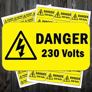 Electrical-Voltage-Stickers-Danger-Sign-50-x-25-mm-110v-230v-240v-aar