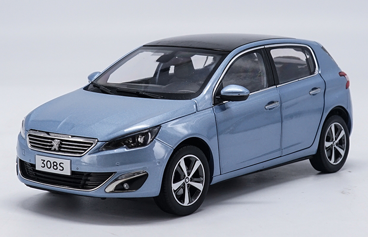 1 18 Dongfeng Peugeot Fabricant de 2015 Peugeot 308 S Modèle De Voiture eau Collection