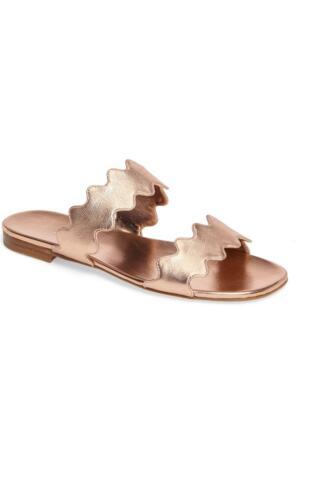 11d3e78288680 In Wellen Schuhe Prada Damen Gold Box Flache Neu Sandalen jLR543Aq