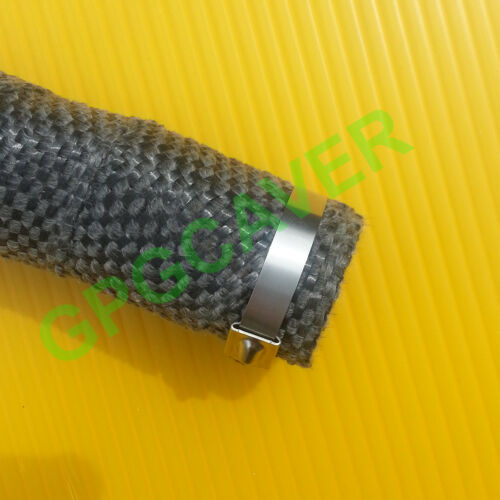"""Four 4 14/"""" Stainless Zip Lock cable Ties Exhaust Header Pipe Wrap Tape"""