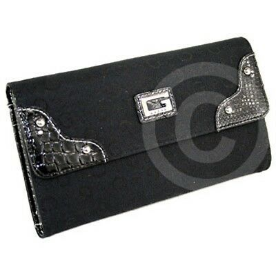 Brand New Rare Collections GuEsS SLG Wallet Ladies Signs Coal Women | eBay