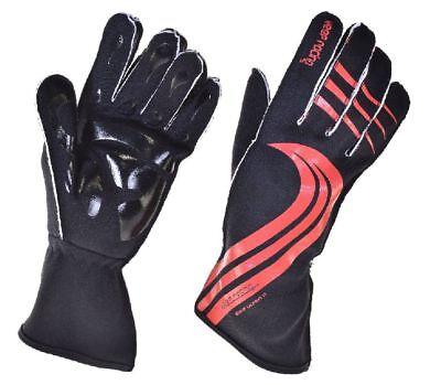 schwarz 7 GRIP Kart Handschuhe Größe XS