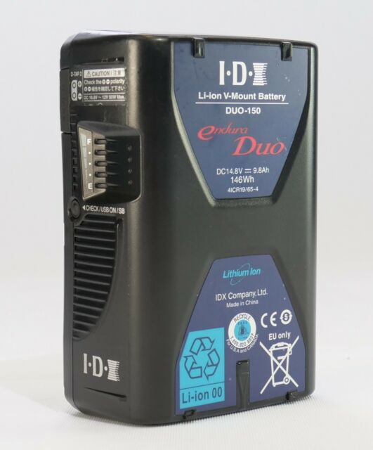 IDX DUO-150 146Wh Li-ion V-Mount Battery with USB output #DUO-150