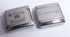 MY LITTLE PRINCESS 9mm Italian Charm + 1x Nomination Classic Link I Love My N125