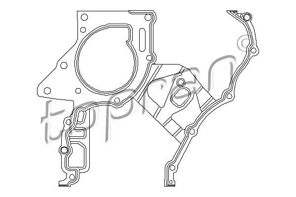 Seal Gasket Fits Opel Astra G Frontera Omega Vectra 638176 For Sale