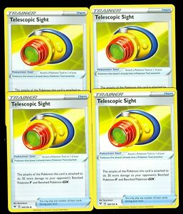 4x Telescopic Sight Trainer 160//185 Vivid Voltage Pokemon TCG NM//M