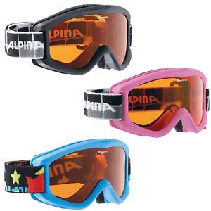 Alpina-Carvy-Children-039-s-Ski-Goggles-Snowboard-Glasses