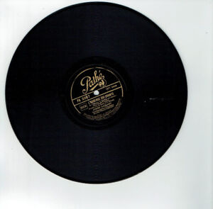 78T-25cm-Andre-DASSARY-Disk-Sound-Operetta-INN-QUI-CHANTE-PATHE-2007-RARE