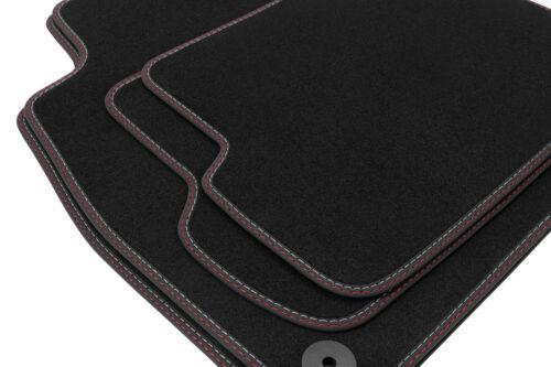 2013 Premium Doppelziernaht Fußmatten für Peugeot 308 2 ab Bj