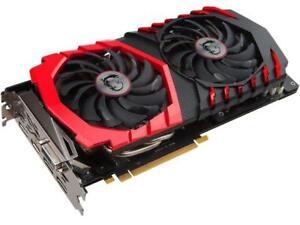 MSI GeForce GTX 1060 DirectX 12 GTX 1060 GAMING X 6G 6GB 192-Bit GDDR5 PCI Expre