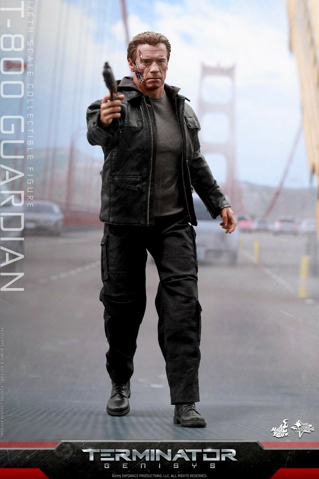HOT TOYS 1/6 TERMINATOR GENISYS MMS307 T-800 GUARDIAN MASTERPIECE ACTION FIGURE