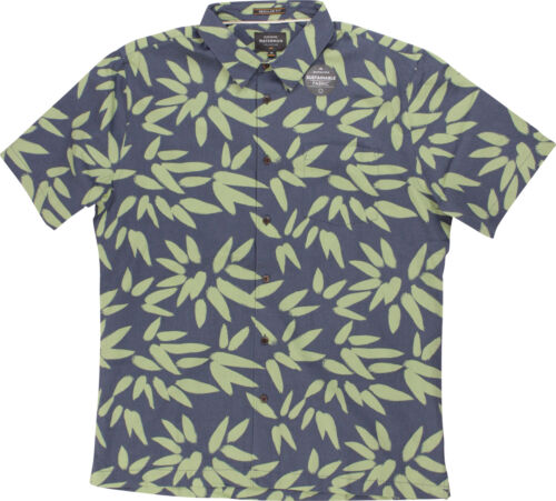 Orion Blue Quiksilver Mens Waterman Collection Odysea SS Shirt