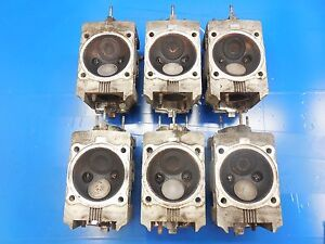 "Details about Porsche 911 964 3 6 OEM Set of 6 ""Early"" Cylinder Heads  (Matched Set)"