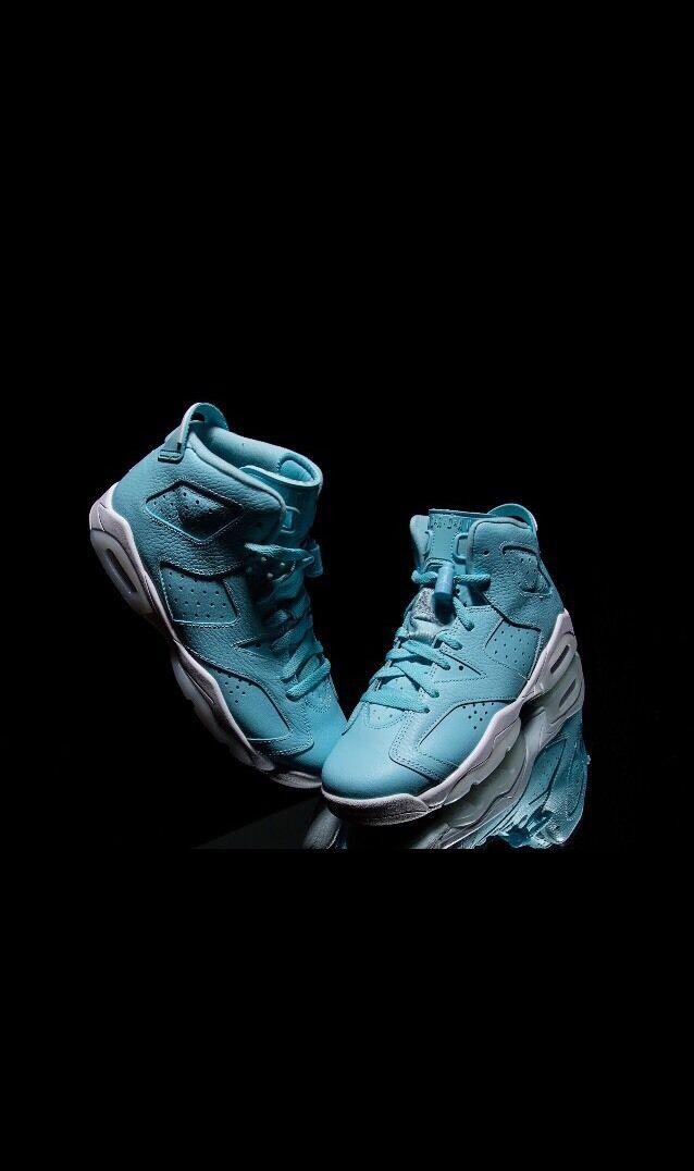Air Jordan 6 Retro Pantone Still Blue 543390-407 w/Receipt Size 8.5