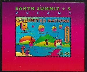 UN-Scott-NY-708-Souvenir-Sheet-1997-Complete-Set-FVF-MNH