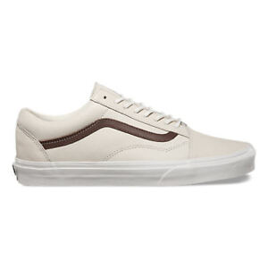 Vans / Men's Old Skool Sneakers / Blanc De Blanc/Potting Soil