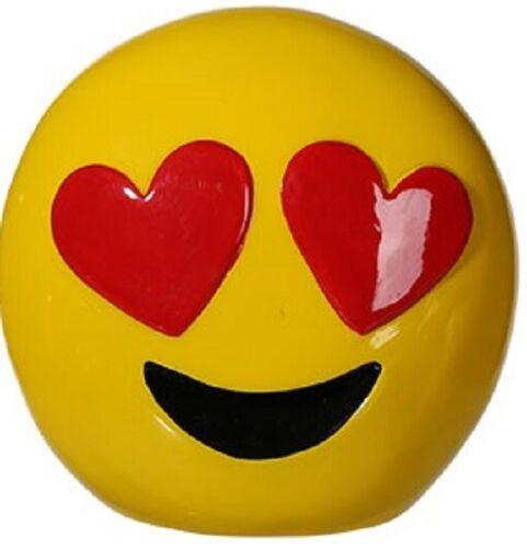 Emotion Spardose ca 13 cm 6 verschiedene Motive Polyresin Sparschwein
