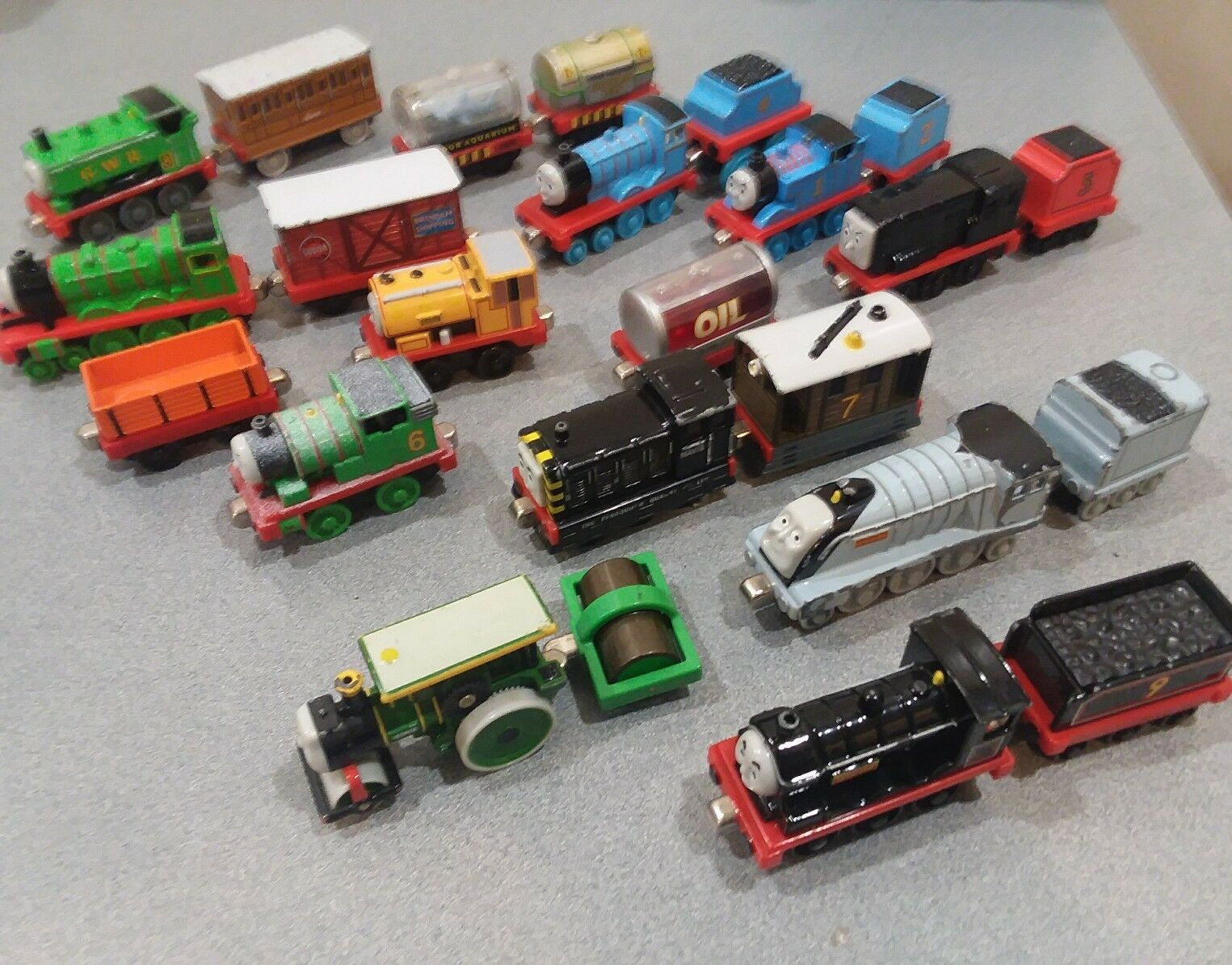 Lot 24 Thomas Train & Friends Take Along Die Cast Engines 2002-03 Spencer Donald
