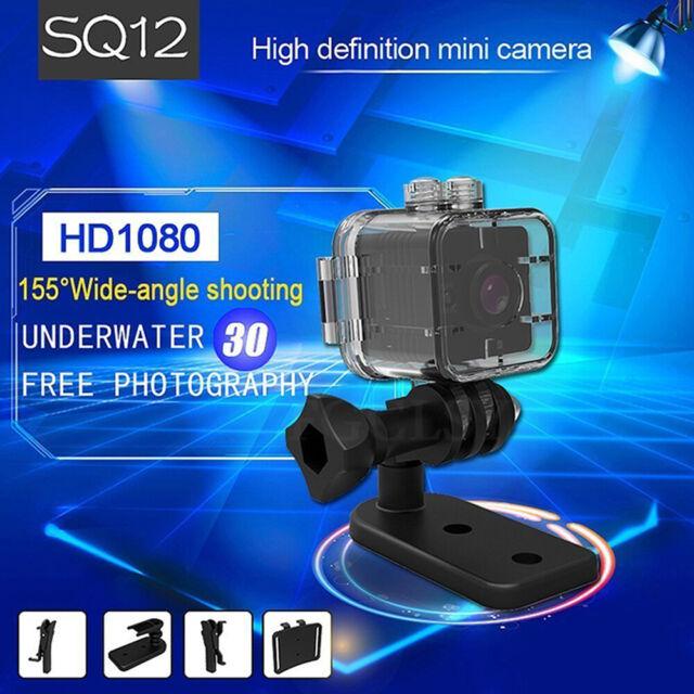 Micro HD1080P Motion Monitor Night Vision Video DVR SQ12 DV Camera Camcorder P