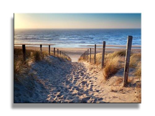 Canvas Wall Art Print Beach Nautical Sand Footprint Gift Home Decor Picture New