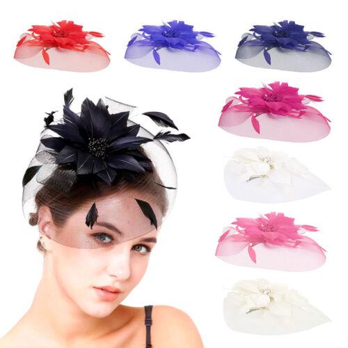 Fascinator Kopfschmuck Hut Haarreif Kostüm Stirnband Haarband Hochzeit