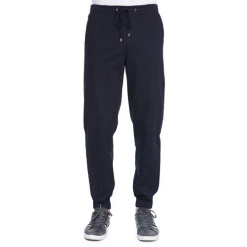 NWT VINCE Men/'s Denim-Knit Jogger Pants $195