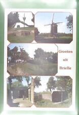 CPA Holland Brielle Windmill Moulin a Vent Windmühle Wiatrak w7