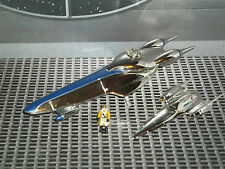 STAR WARS ACTION FLEET EPISODE 1 ALPHA NABOO ROYAL STARSHIP W/ RIC OLIE MINI FIG