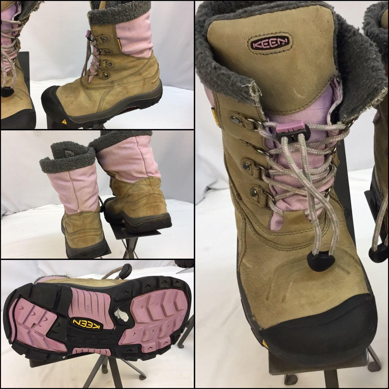 Keen botas De Nieve Talla 5 Mujeres Cuero Tostado Tostado Tostado rosado Cálido Impermeable 200 gramos ygi M6-116  Entrega rápida y envío gratis en todos los pedidos.