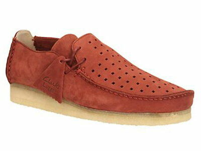 afcabc1e270 Clarks Originals Mens    Wallabees Lugger Terracotta Lea    UK 7