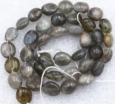 """Beautiful 8x10mm Labradorite Irregular Shapes Gemstone Loose Beads 15"""""""