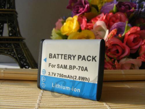 Batería para Samsung BP-70A PL120 PL170 PL200 PL201 SL50 SL600 SL605