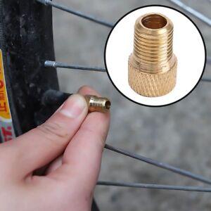 5x-bicicleta-valvula-adaptador-DV-SV-frances-a-Dunlop-bike-automovil-bomba-nuevo-pop
