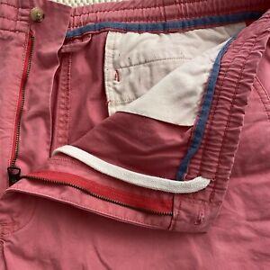 Polo-Ralph-Lauren-SZ-XXL-40-x-10-034-Coral-Flex-Cotton-Drawstring-Casual-Shorts