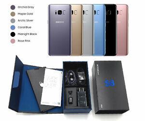 UNUSED-Samsung-Galaxy-S8-64GB-CDMA-GSM-Verizon-T-Mobile-AT-amp-T-Factory-Unlocked