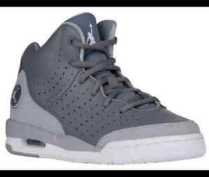 Nike Flight Speed Jordans, GreyWhite