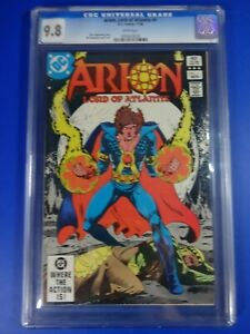 CGC-Comic-graded-9-8-Arion-lord-of-atlantis-DC-1-Key-issue