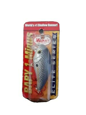 Minus SB4E-5 the WORLD/'S #1 Shallow Lure for Bass Details about  /Mann/'s Elite Series Baby1