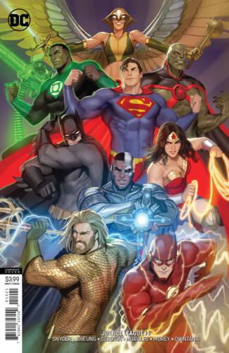 JUSTICE LEAGUE #14 VARIANT DC COMICS NM 1ST PRINT 2019